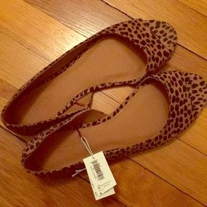Old Navy *brand new* leopard print flats